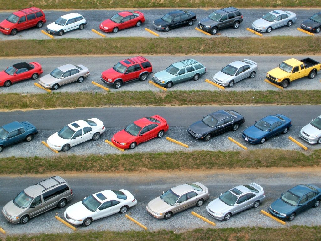 Top View for Used Cars