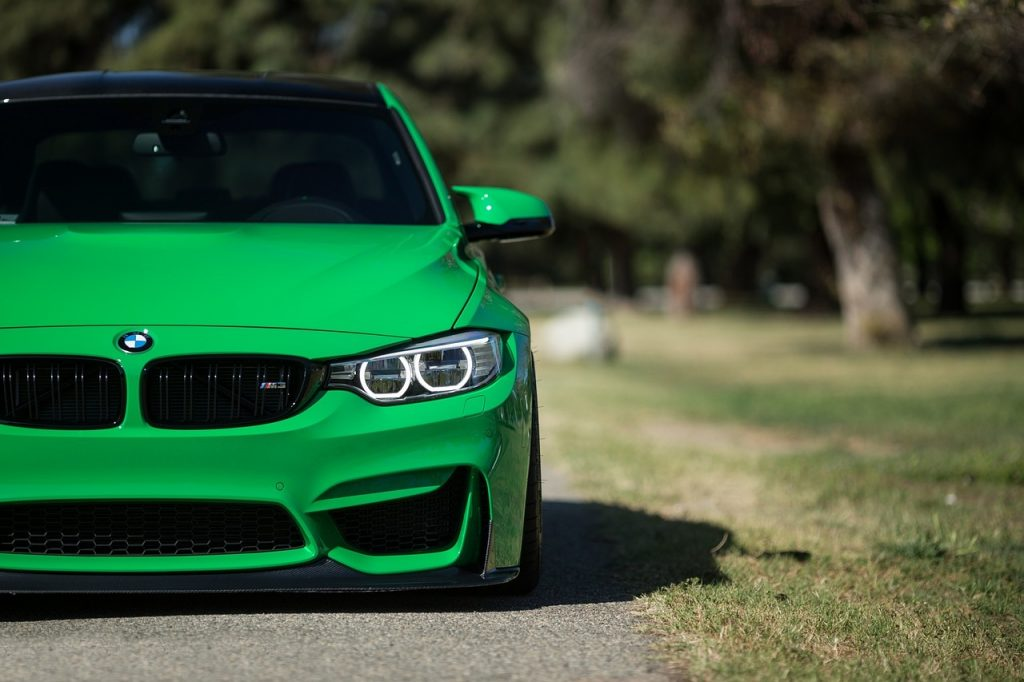 Green BMW Sports Car For Sale