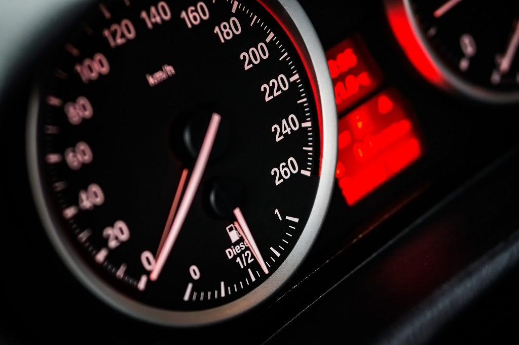Speed Meter Diesel Car