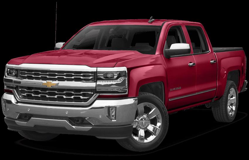 2017-Chevy-Silverado Red