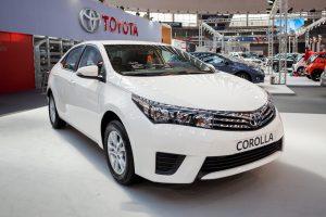 #4 <b>Toyota Corolla</b>